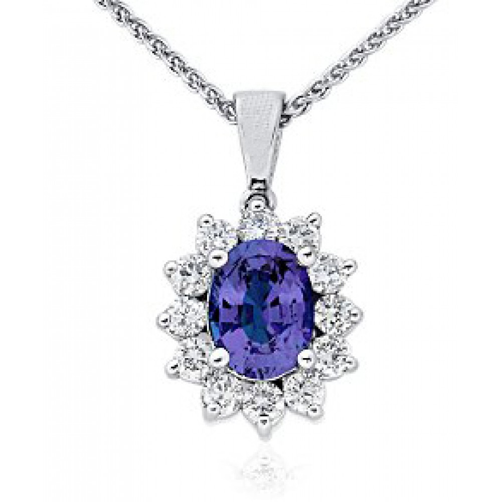 3 00 ct sapphire and pendant