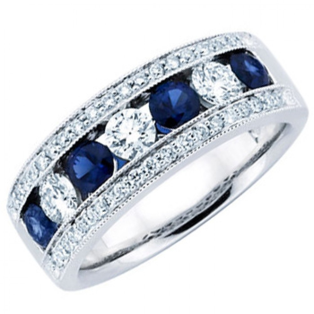 blue sapphire wedding rings. Black Bedroom Furniture Sets. Home Design Ideas
