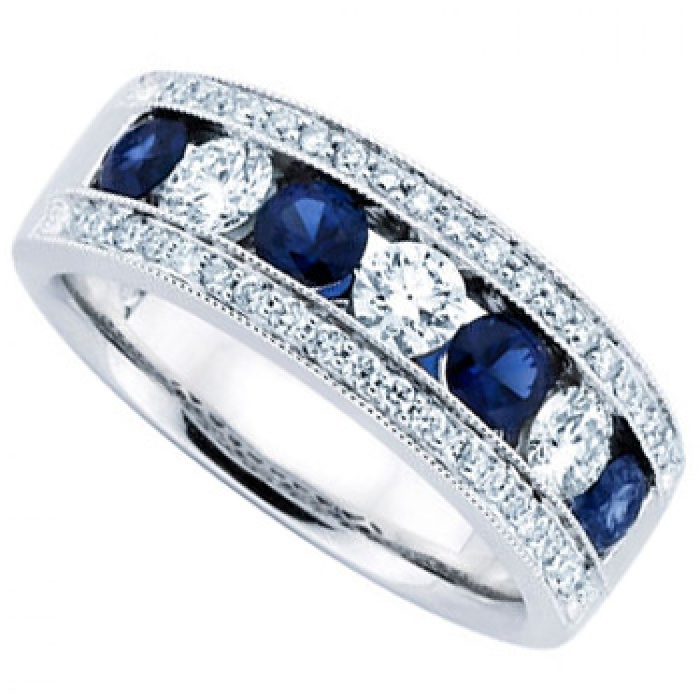 wedding ring shop the gallery for gt blue wedding jewelry sets 1001