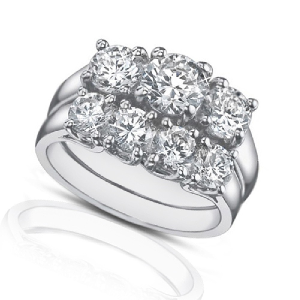 2 25 ct three engagement ring with