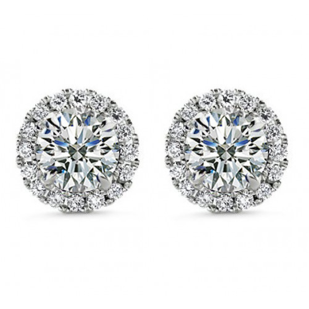 Overstock uses cookies to ensure you get the best experience on our site. If you continue on our site, you consent to the use of such cookies. Learn more. OK Cubic Zirconia Earrings 14k Solid Gold Round 3mm Superbright Screw-Back Cubic Zirconia Stud Earrings. 81 Reviews. SALE.